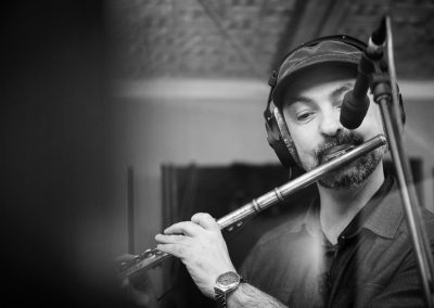Márcio Tubino mit Flöte
